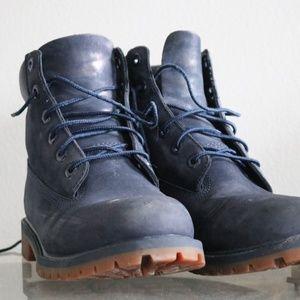Timberland Premium Blue Size 7 WATERPROOF